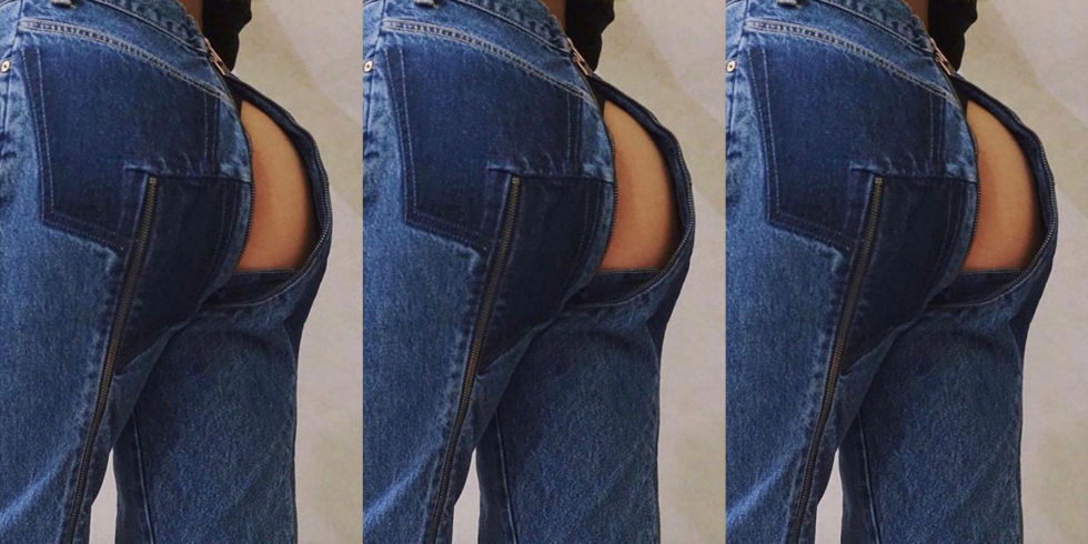 The Vetements X Levi's Bare Butt Jeans Are Finally Here