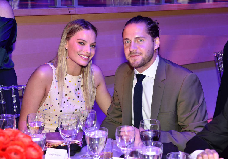Margot Robbie and Tom Ackerley in a romantic date after marriage