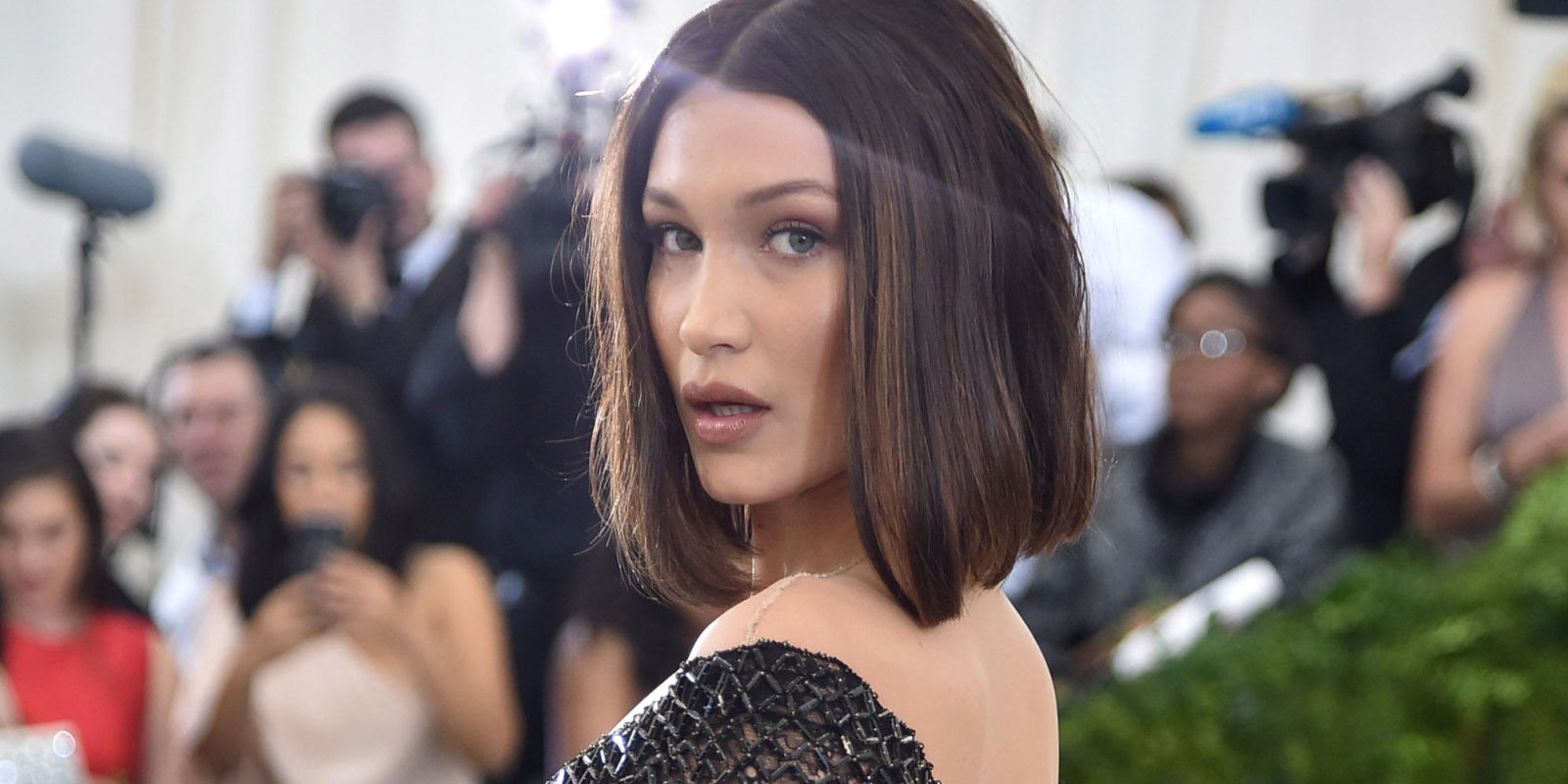 bella hadid turns up the heat in seethrough alexander