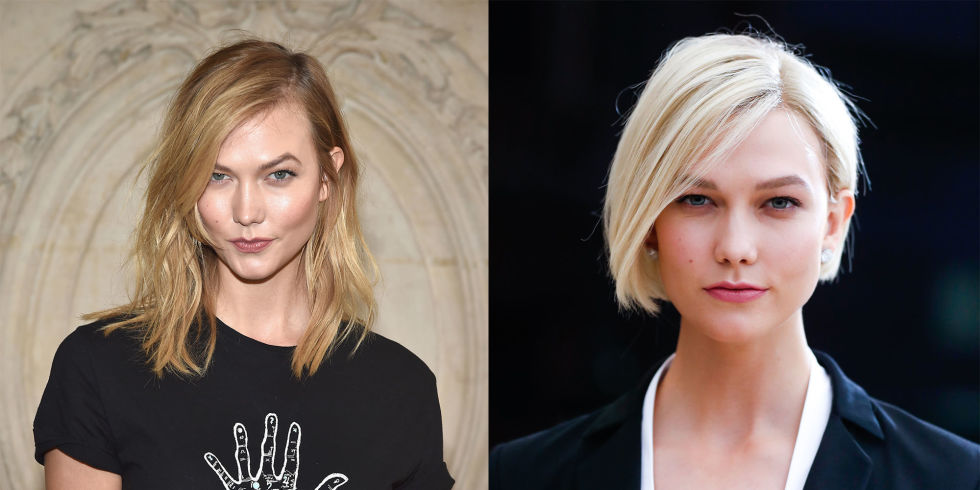 Celebrity hair transformations long short brunette blonde celebrity hair transformations long short brunette blonde fringes and bobs urmus Image collections