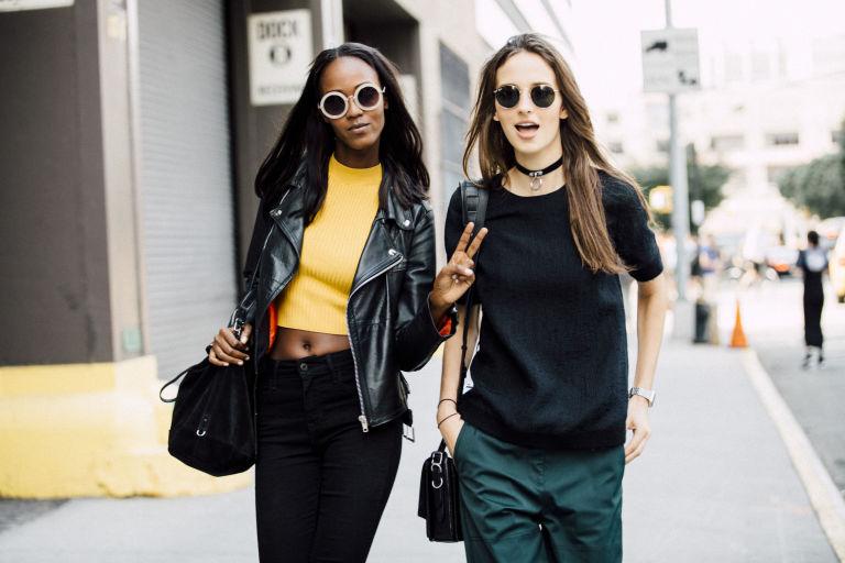 Models in sunglasses | ELLE UK