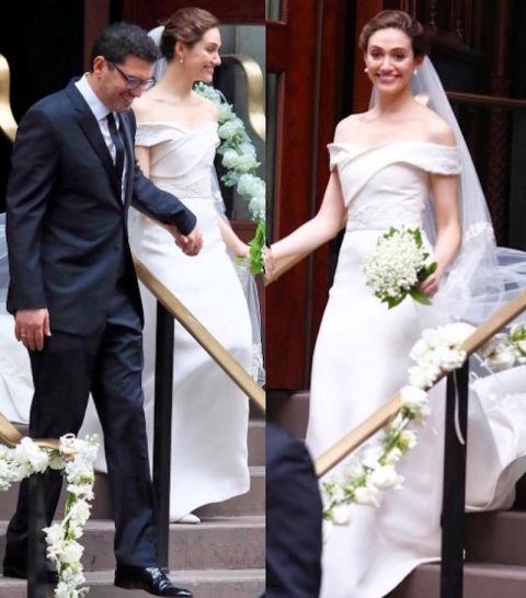Best Celebrity Wedding Dresses 2017 - Celeb Bridal Style