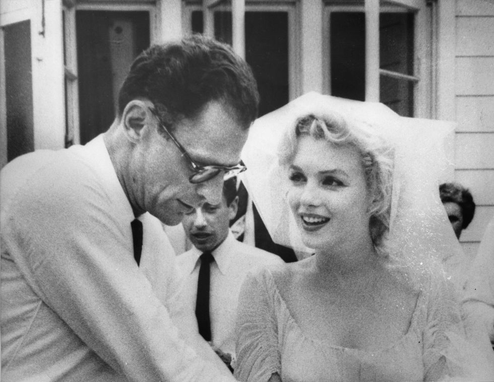 Monroe married playwright Arthur Miller on June 29, 1956.