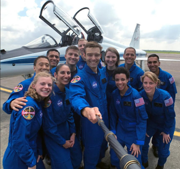 NASA's new class of 2017 astronauts featuring 5 women