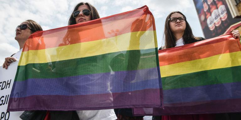 LGBTQ walk   ELLE UK