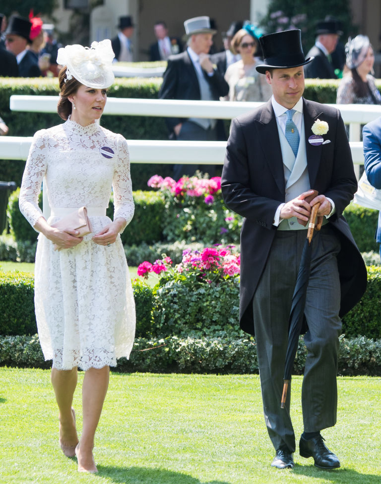 Kate Middleton at Royal Ascot 2017 | ELLE UK