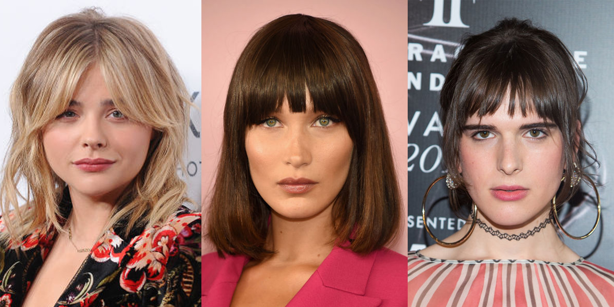 Celebrity Fringe Hairstyles | woman&home