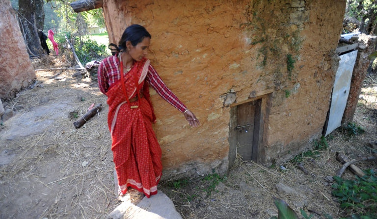 Image result for teenager-snakebite-menstruation-hut-chhaupadi-dangerous-tradition