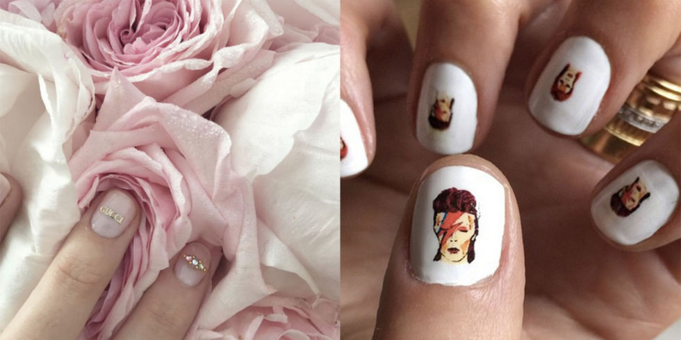 Nail art designs the best celebrity nail art for all your celebrity instagram nail art prinsesfo Image collections