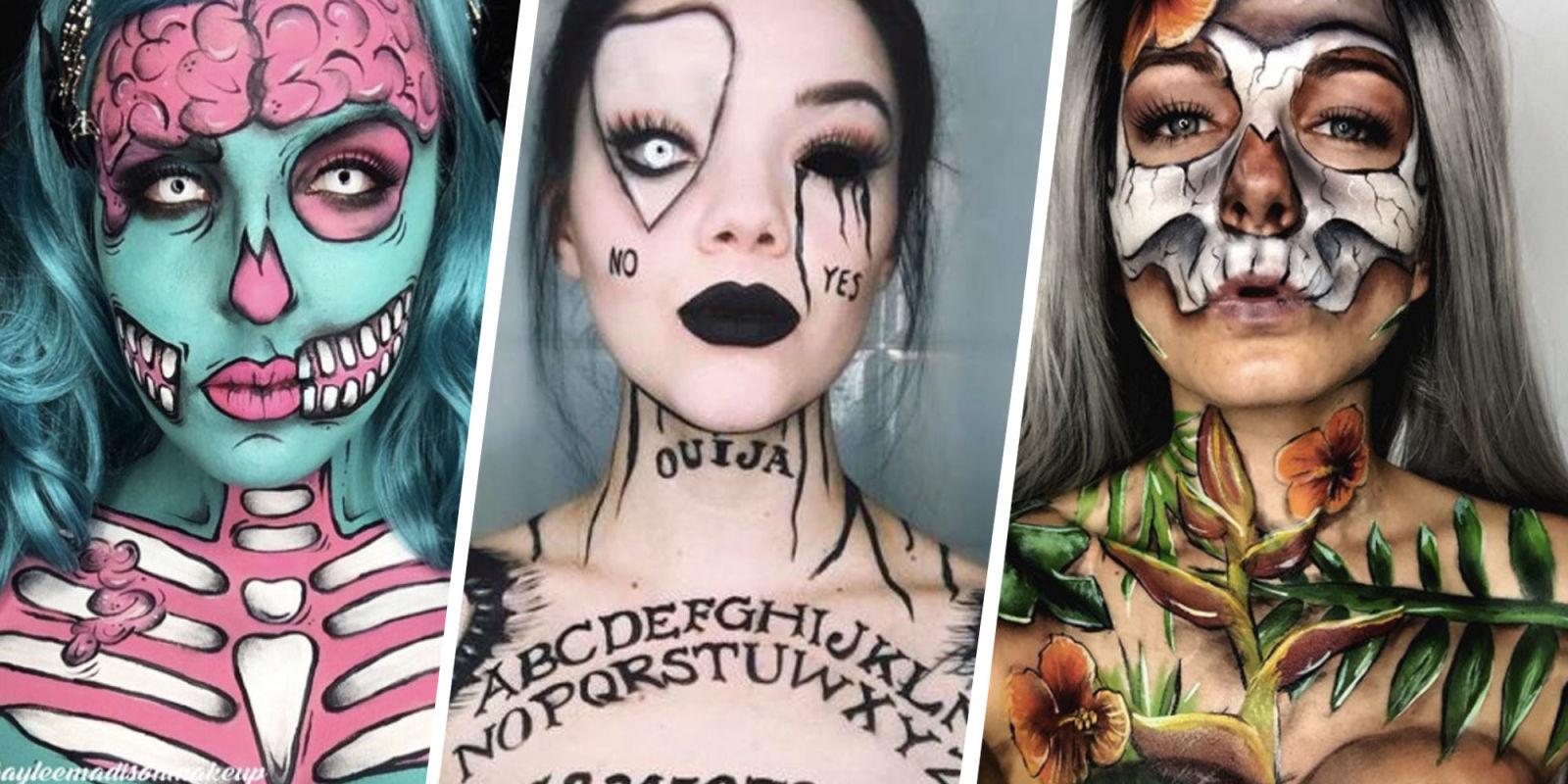 21 Best Halloween Makeup Ideas - Instagram Makeup Artists ...
