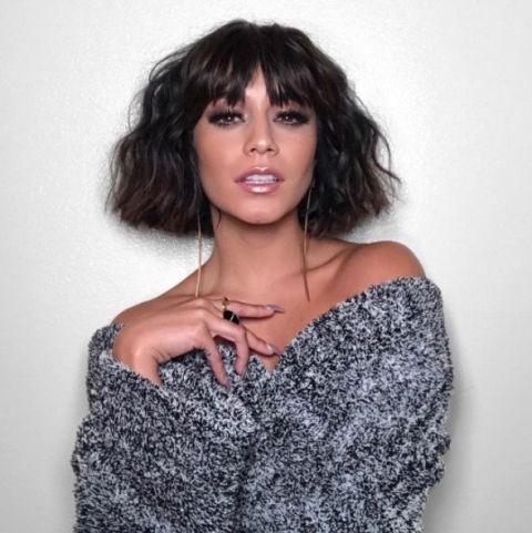 Vanessa Hudgens Fringe Hair
