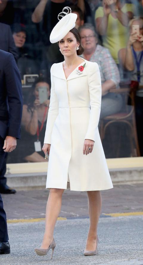 Kate Middleton Style File Best Outfits Amp Dresses Elle Uk