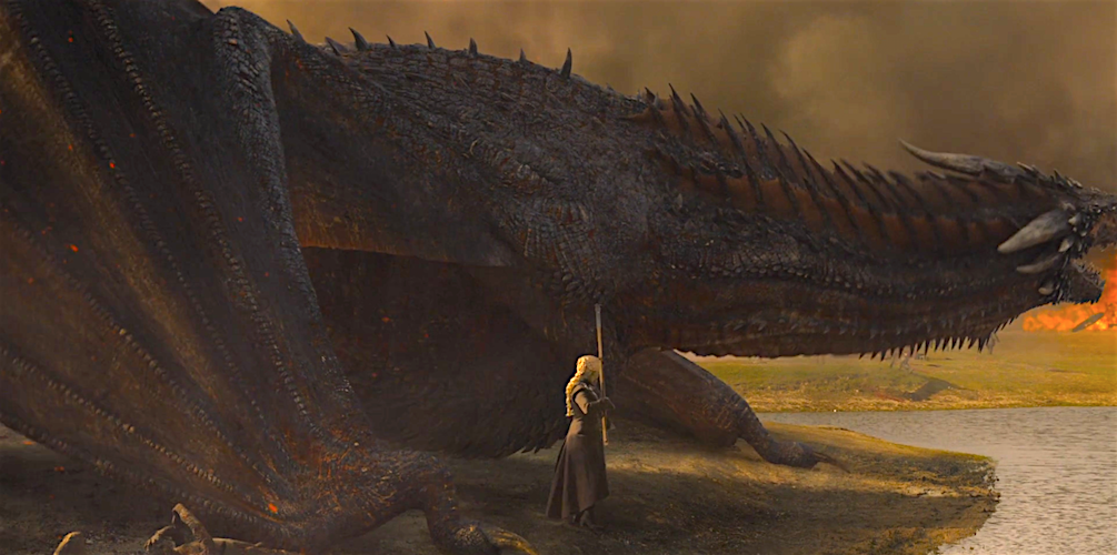 Game of Thrones Fans Noticed Concerning Details About Dany's Dragon