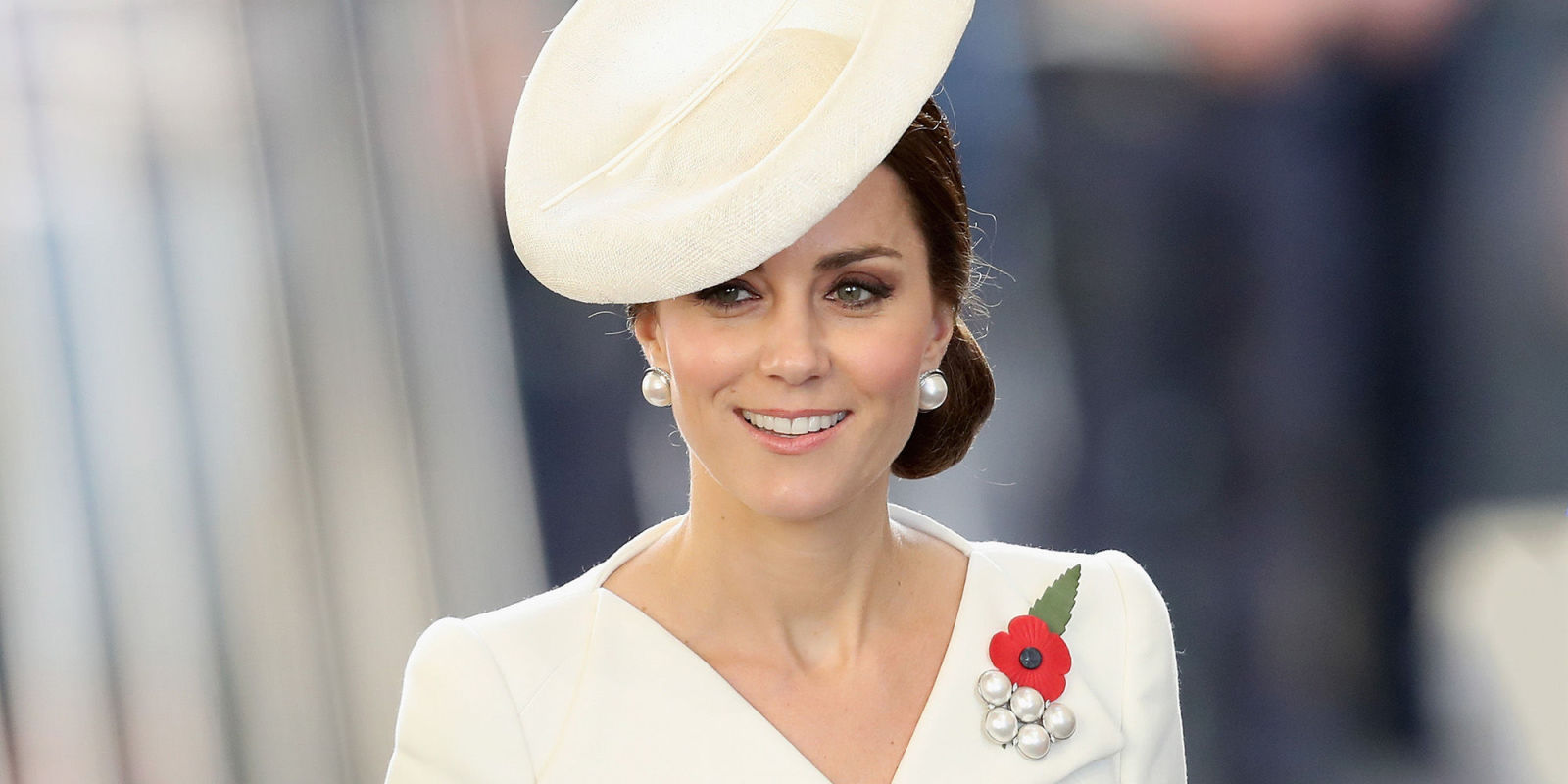 Kate Middleton Appears at Buckingham Palace for First Time ...