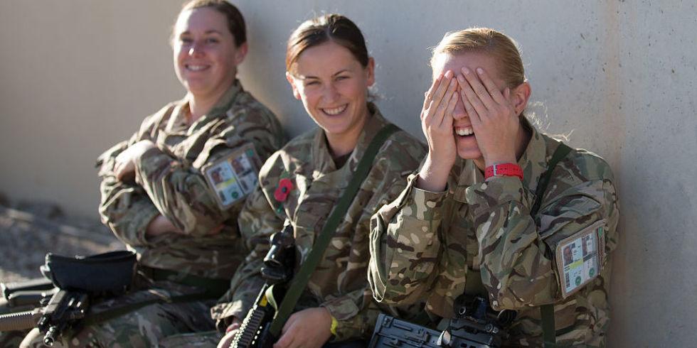 Women Army Porn