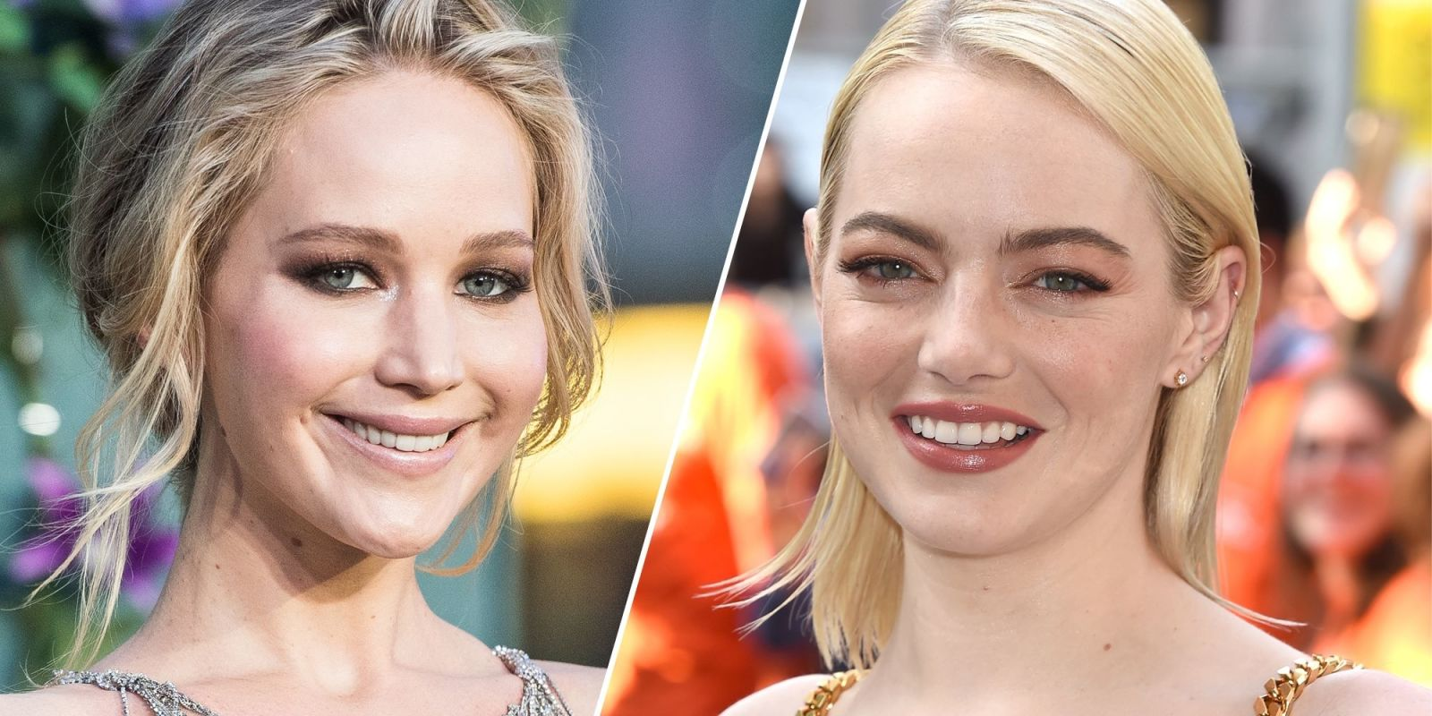 Jennifer Lawrence and Emma Stone Are Us All, Sharing an Awkward Hug