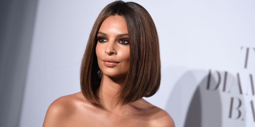 36 bob hairstyles for 2017 bob haircuts to copy this year emily ratajkowski bob hair urmus Choice Image