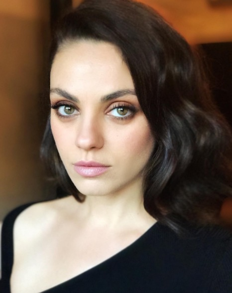 Mila Kunis Lob Hair