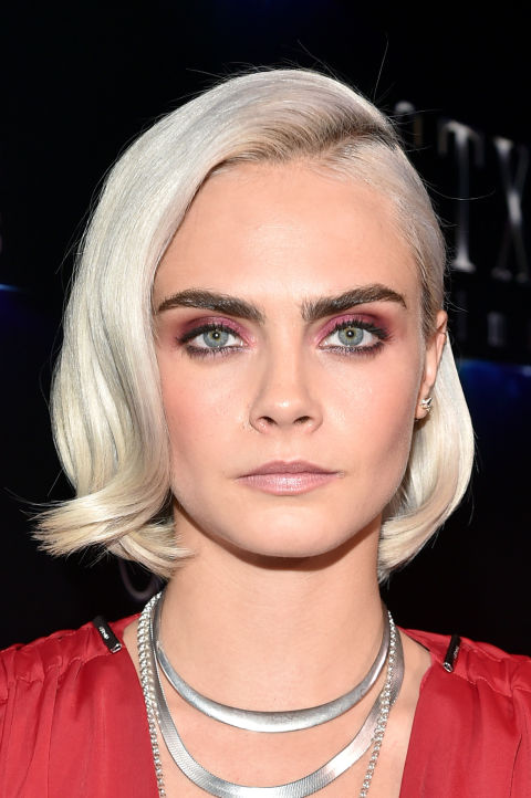 Cara Delevingne Hair Every One Of Cara Delevingne S Hair