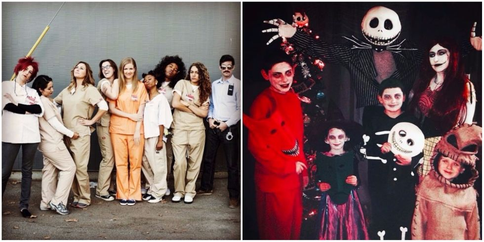 17 Group Halloween Costume Ideas - Easy Costume Ideas for Big Groups