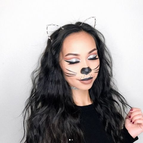 easy halloween beauty looks you can do with products in