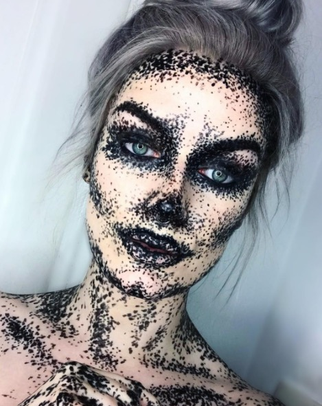 24 Best Halloween Makeup Ideas - Instagram Makeup Artists ...
