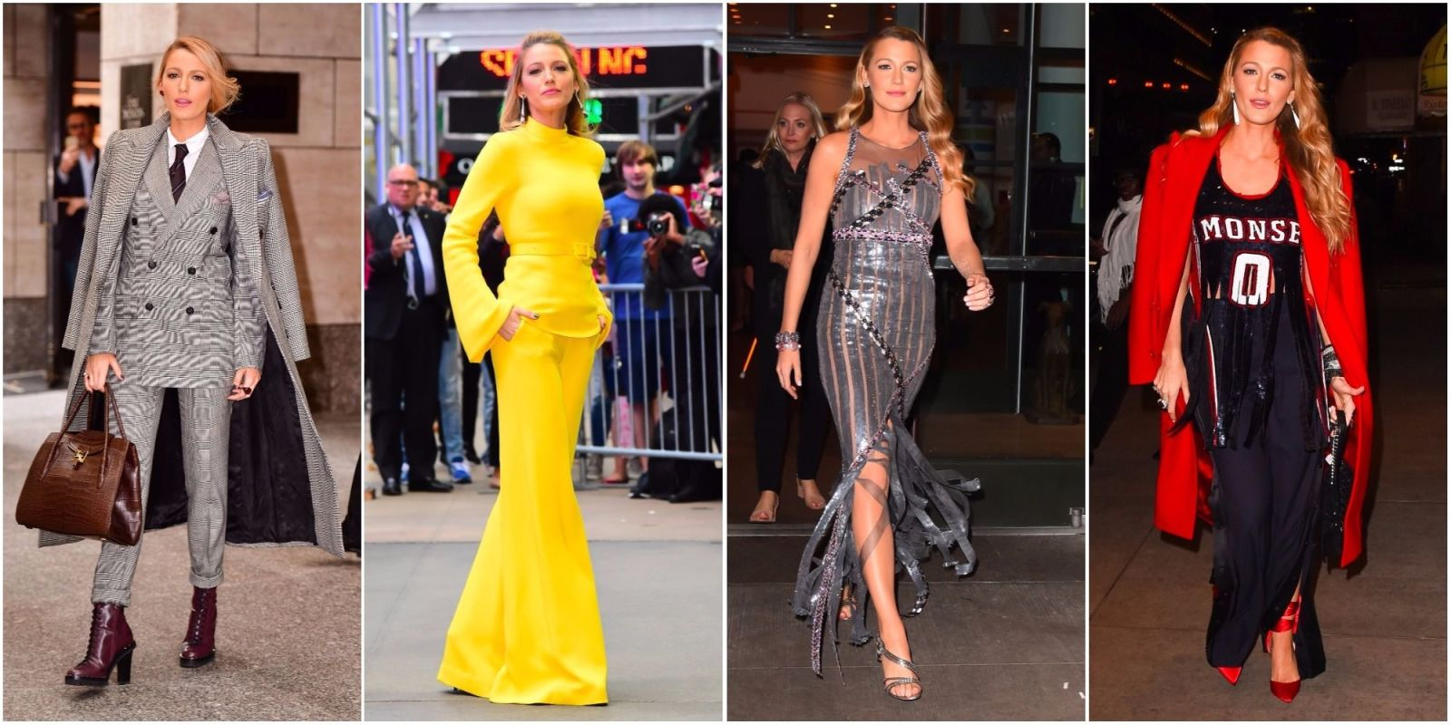 Blake Lively Just Wore Seven Outfits In One Day And Ryan Reynolds Is In Awe