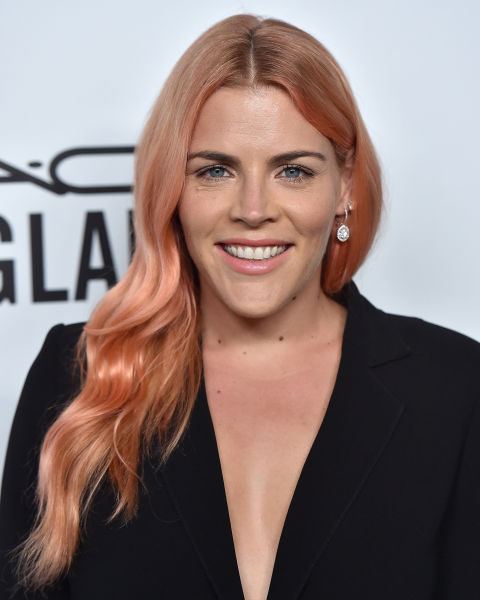 Rose Gold Hair Color Tip