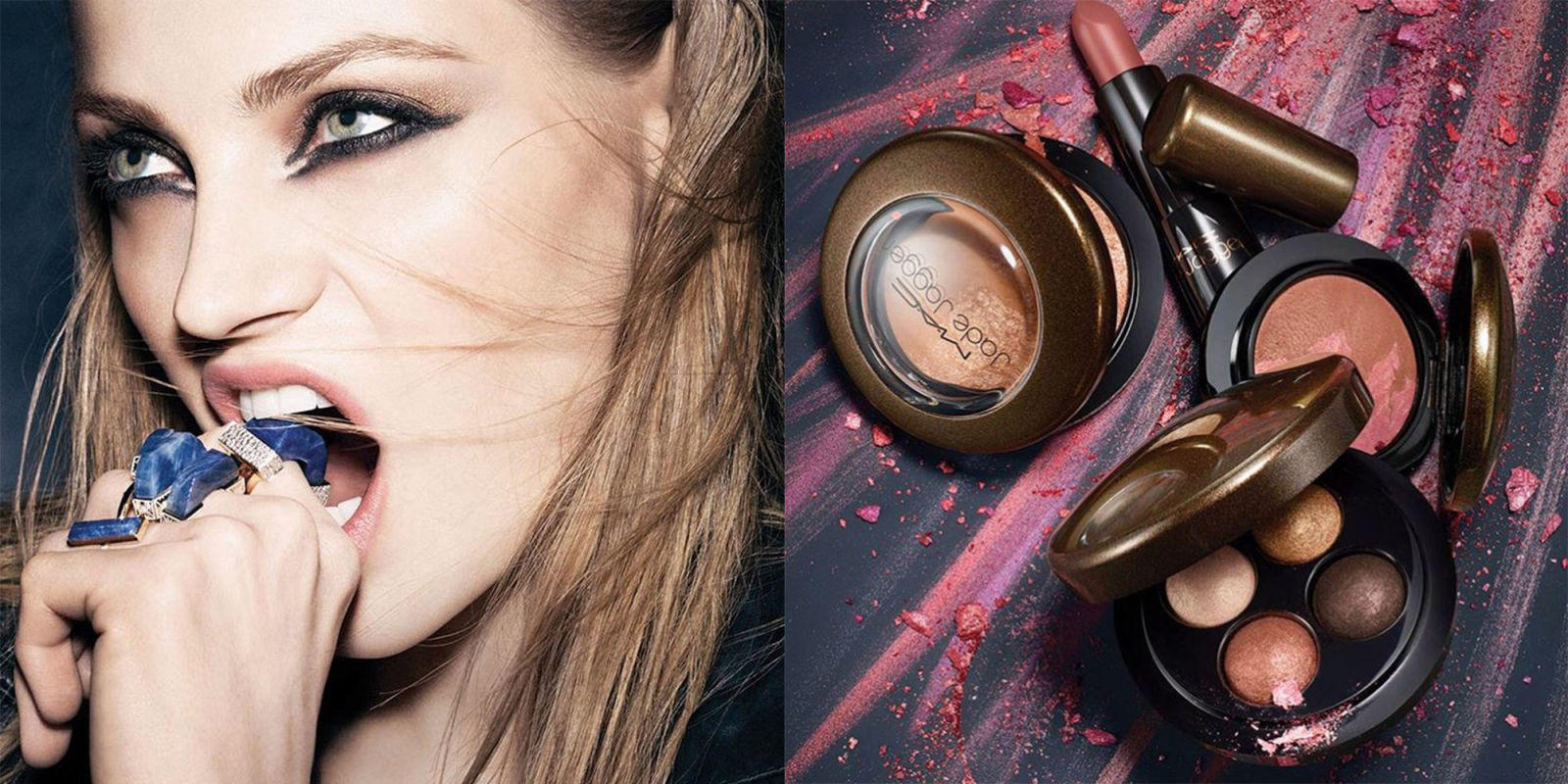 see every badass product from mac 39 s new jade jagger make up collection. Black Bedroom Furniture Sets. Home Design Ideas