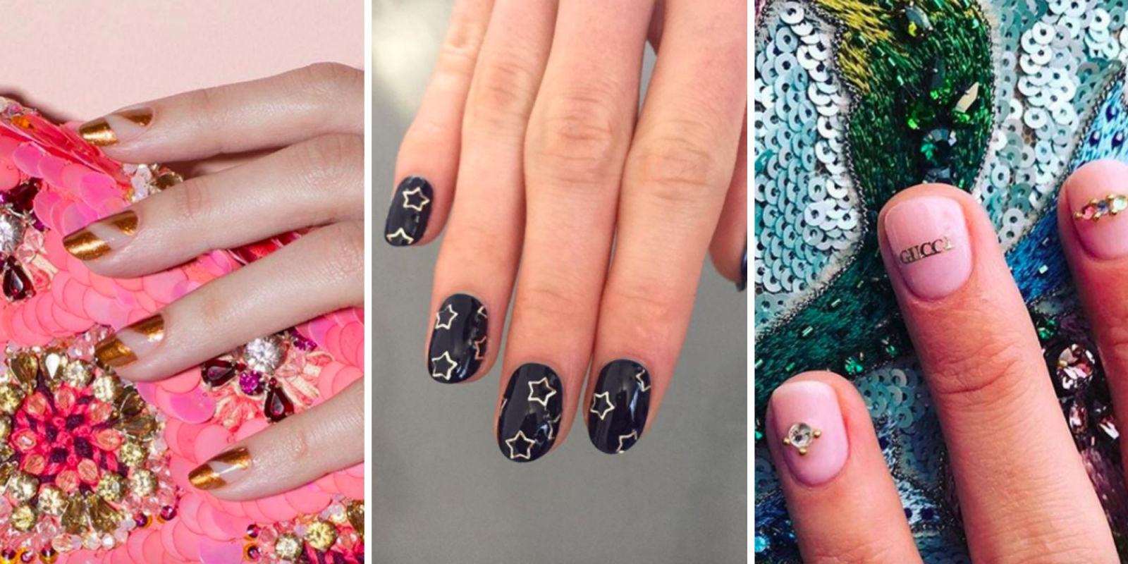 Latest nail trends and designs beauty nails new years eve nail art designs prinsesfo Images