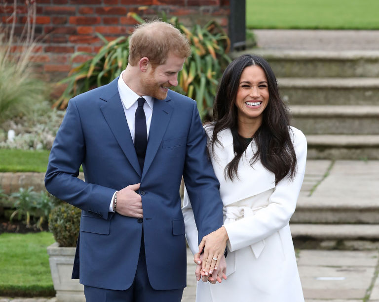 Prince Harry, Meghan Markle announce engagement in the Sunken Garden, Kensington Palace