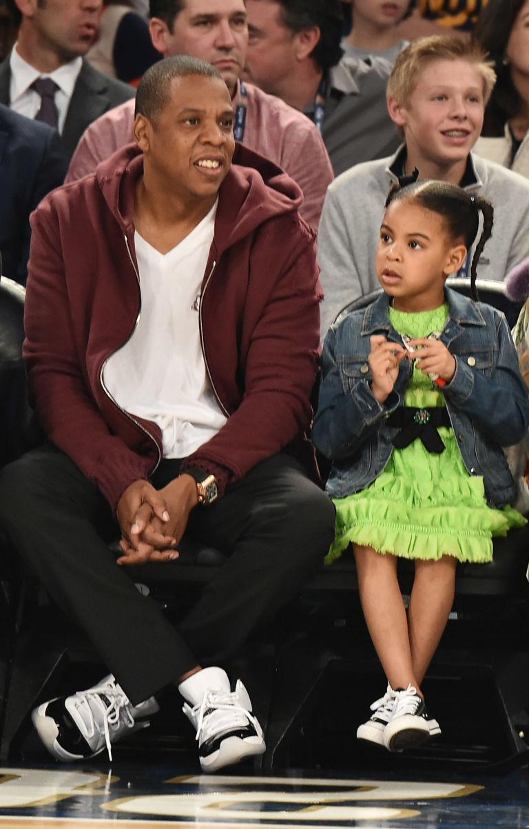 Jay-Z and Blue Ivy | ELLE UK