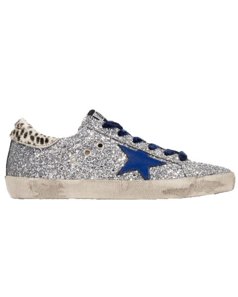 golden-goose-super-star-glittered-leather-and-calf-hair-sneakers.jpg (480×600)
