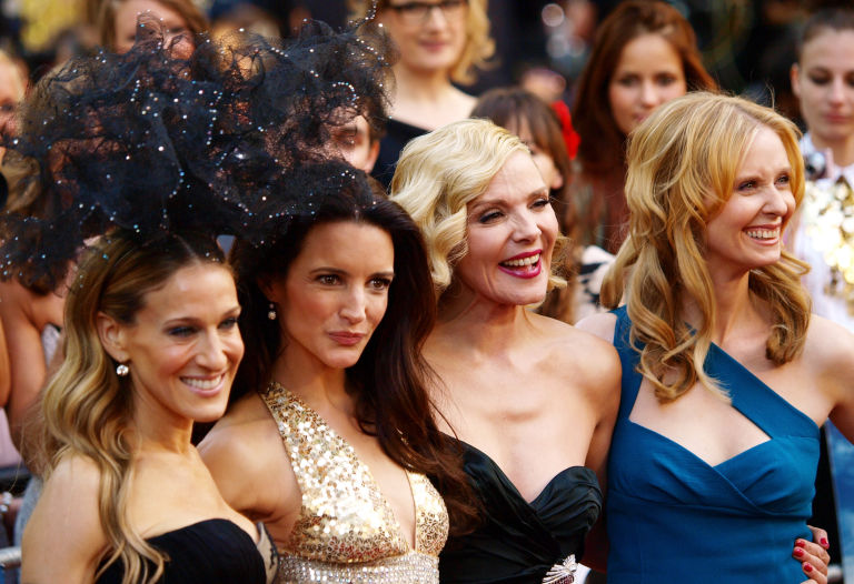 Sarah Jessica Parker, Kristen Davis, Kim Cattrall, Cynthia Nixon, Sex and the City, SATC