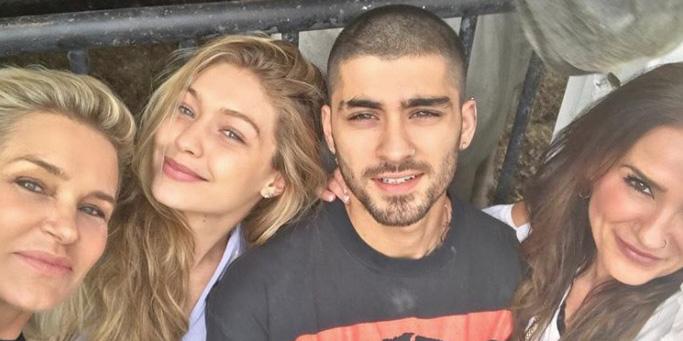 Zayn Malik Unfollows Gigi And Yolanda Hadid On Instagram