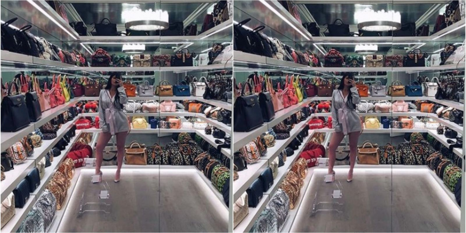 How Much Is Gucci Worth >> How Much Are All Of Those Handbags Worth In Kylie Jenner's Closet?