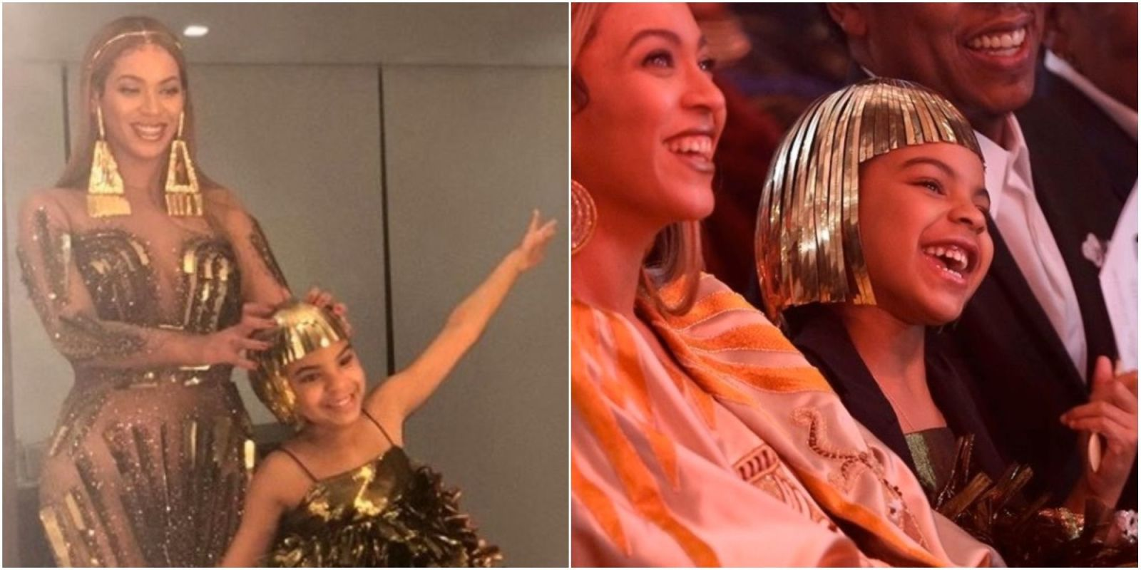 Beyoncé Shares Adorable Family Snaps Of Golden Girl Blue Ivy From Art Gala
